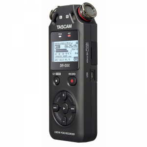 Tascam DR05X Linear PCM / MP3 Recorder