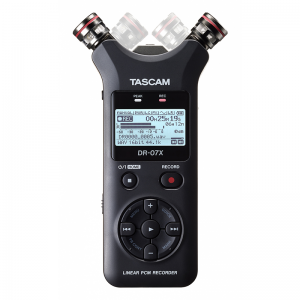 Tascam DR07X Stereo Handheld Digital Audio Recorder and USB Audio Interface