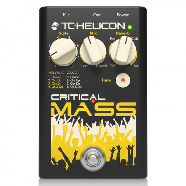 TC Helicon Critical Mass Vocal Effect