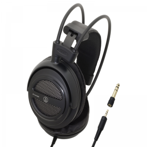 "Audio-Technica ATH-AVA400 open-back ""Home Studio"" headphones"