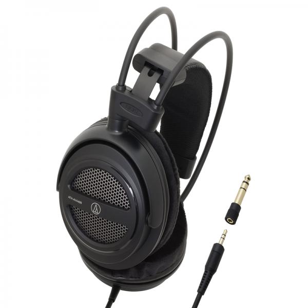 "Audio-Technica ATH-AVA400 open-back ""Home Studio"" headphones"