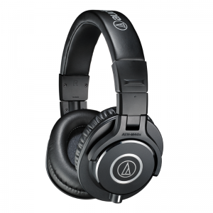 Audio-Technica ATH-M40x precision closed-back studio headphones