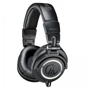 Audio-Technica ATH-M50x precision closed-back studio headphones